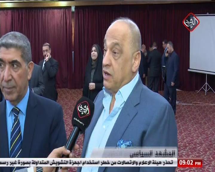 سائرون تعقد اجتماعا موسعا بدعوة من الاستاذ سعد عاصم الجنابي